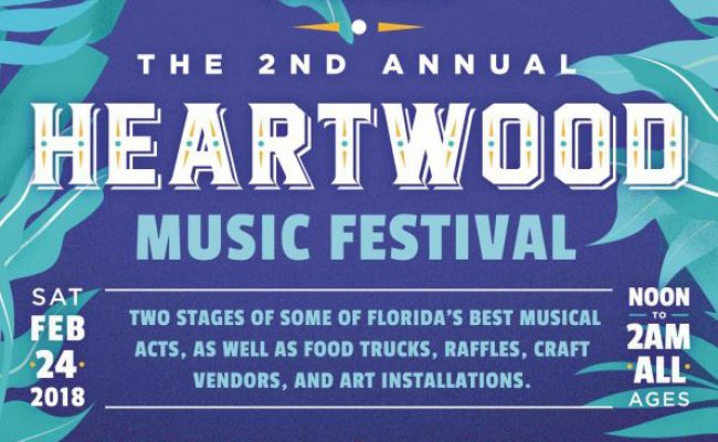 The 2nd Annual Heartwood Music Festival