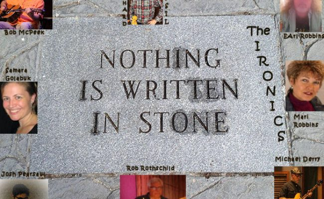 Nothing is Written in Stone 3